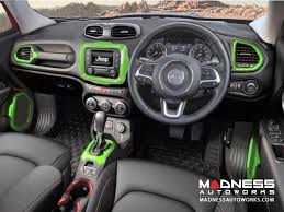 new jeep renegade green jeep jeep renegade interior trim kit green right hand drive