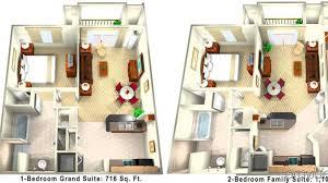 Orlando 2 Bedroom Suites Hotel The Point Orlando Resort Orlando Fl 3 United States