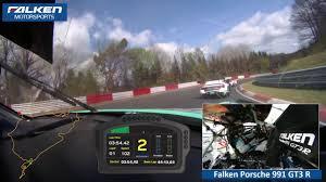 porsche falken falken motorsports onboard 24h quali race 2017 porsche 911 gt3r