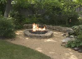 Backyard Sand Garden Placing Cheap Fire Pit Area Ideas Backyard Landscaping