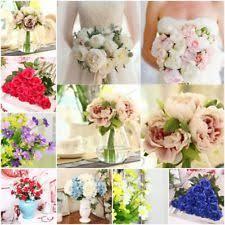 Wedding Garden Decor Silk Peonies Ebay