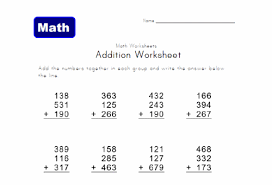 math worksheets for 2nd grade 2nd grade online math worksheets