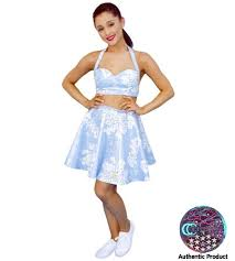 Ariana Grande Blue Dress Cardboard Cutout Celebrity Cutouts
