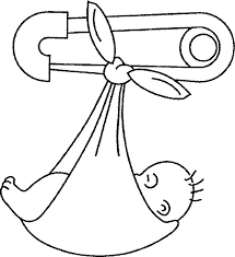 collection solutions baby coloring pages print form