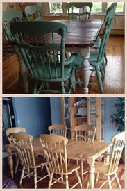 Paint Dining Room Table by Chalk Paint Dining Chairs Distressed My Dining Room Table And