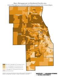 Census Tract Map Chicago by Is Chicago A Bellwether For Mortgage Lending Trends Institute
