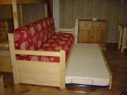 canape gigogne bois meubles et montagne fabrication et vente de meubles en épicéa