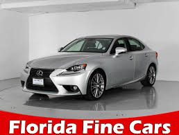 lexus sedan sale used 2015 lexus is 250 sedan for sale in miami fl 85406
