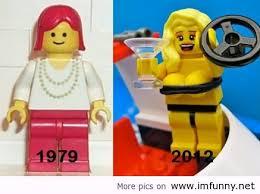 Funny Lego Memes - evolution of lego
