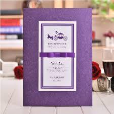 purple wedding guest book aliexpress buy new arrival purple wedding guest book 2015
