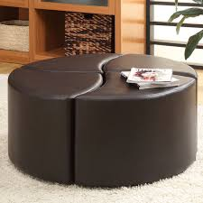 awesome large round ottoman coffee table coffee table perfect