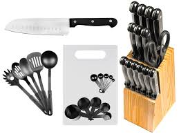kitchen knives sets imperial home 29 stainless steel kitchen knife set reviews