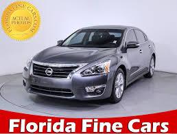 nissan altima for sale in miami used 2015 nissan altima sl sedan for sale at miami fl 85545