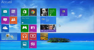 arriere plan de bureau afficher l arrière plan du bureau sur l accueil de windows 8 1