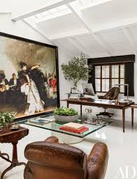 art advisor will kopelman devises a sophisticated home office in