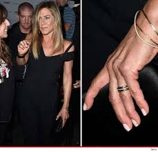 aniston wedding ring aniston let s hear it for the band photo tmz