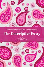 chronological order descriptive essay