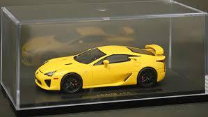lexus lfa model car amiami character hobby shop 1 43 lexus lfa yellow released