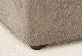 Stretch Ottoman Slipcover Sure Fit Ultimate Heavyweight Stretch Leather Ottoman Slipcover