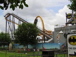 Six Flags Parking Batman The Escape Wikipedia