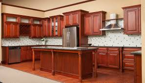Cherry Glaze Cabinets Kitchen Cherry Cabinets