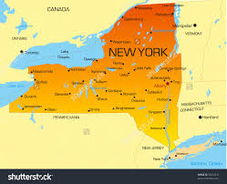 clickable map of new york city ny united states new york state