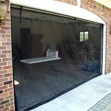 Garage Door Conversion To Patio Door Garage Door Screens Home Depot Retractable Garage Door Screens