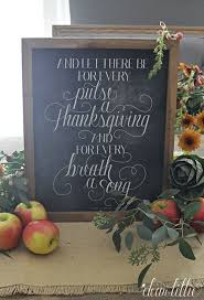 dear lillie and let there be for every pulse a thanksgiving and