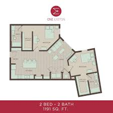 bath floor plans floor plans one easton student apartments near udel