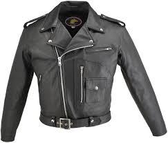 white motorcycle jacket men u0027s d pocket horsehide motorcycle jacket hillside usa