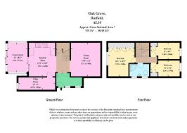 Hatfield House Floor Plan by 3 Bed Semi Detached House For Sale In Oak Grove Hatfield Al10