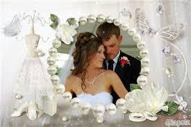 montage mariage montage photo mariage robe de mariée et perles avec diapola