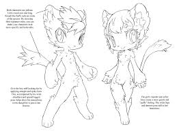 how to draw furry characters using the color wheel