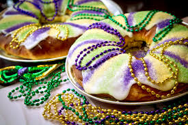 mardi gras cake baby king cake a crowning touch for mardi gras feast albuquerque journal