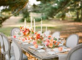Coral Wedding Centerpiece Ideas by Peach Wedding Decorations Wedding Decorations Wedding Ideas And