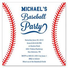 baseball birthday invitations marialonghi