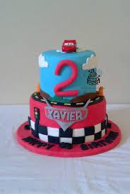 disney pixar cars 2 tier birthday cake cake by carsedra glass