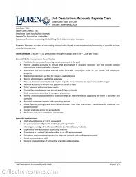 accounting assistant resume sample accounts receivable clerk resume sample free resume example and accounts payable clerk resume objective