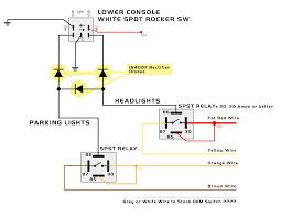component spdt relay diagram dpdt related keywords my knight rider