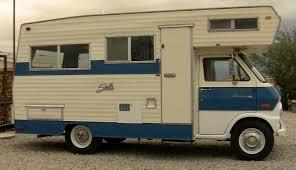 mini motorhome 1970 shasta ford econoline mini rv legendary trucks inc
