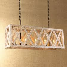 wooden cage island chandelier chandeliers woods and lights