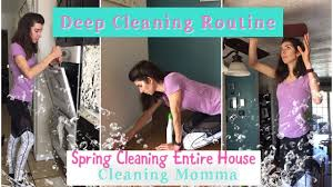 spring deep cleaning cleaning my entire house momma from