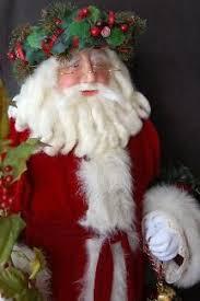 Santa Claus Dolls Handmade - santa claus dolls handmade sculpted by burr of snowflake