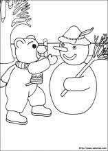 Coloriage Petit ours brun choisis tes coloriages Petit ours brun