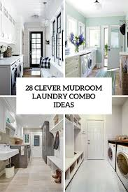 Diy Laundry Room Decor by 28 Clever Mudroom Laundry Combo Ideas Shelterness