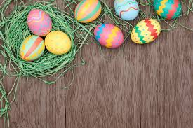 painted wooden easter eggs easter eggs wood background easter eggs wood background flickr