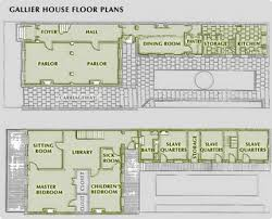 House Rules Floor Plan Floor Plan Of The Gallier House New Orleans Favorite Places