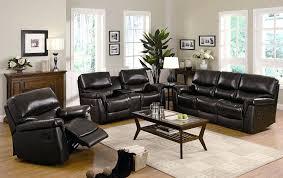 Genuine Leather Reclining Sofa Black Leather Reclining Sofa And Loveseat Real Font Genuine Red