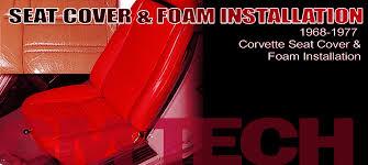 1968 corvette seats 1968 1977 corvette seat cover foam installation corvette magazine