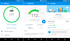 google fiber users get app to manage account and network android